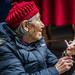 2016 - China - Yangtze River - Shibaozhai - Senior Whistle Vendor