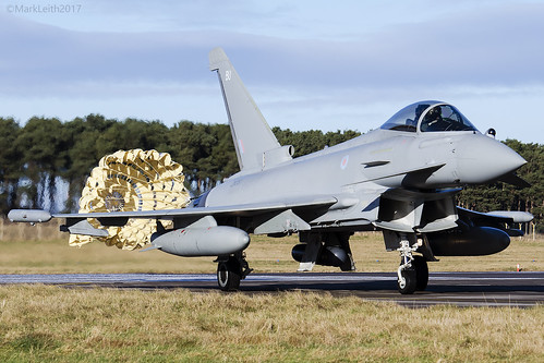 Royal Air Force, Typhoon FGR4, ZK351 / BU.