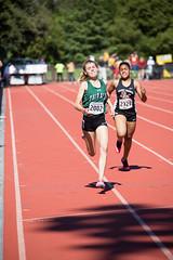 Ella finishing (Malcolm Slaney) Tags: 200m 2017 stanfordinvitational track trackandfield