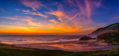 Dance to the Music (philipleemiller) Tags: landscape seascape nature sunset clouds bigsur california pacificcoast panoramas rivers surfandheadlands