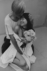 (cat keng) Tags: queer lgbt film flowers 35mm portrait bdsm rope bondage shibari
