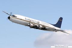 N555SQ - Douglas DC-6B Mainliner - Everts Air Cargo (KarlADrage) Tags: n555sq douglas dc6 dc6b mainliner evertsaircargo anc panc tedstevensintl anchorage alaska usa classicprops propliner