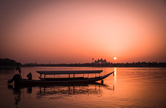 Rose Coloured - Palm Jumeirah, Dubai - Leica M10 (Sparks_157) Tags: anantara dubai leica leicam10 m10 palmjumeirah uae boat city hotel sunset water sunglasses filter outdoor dusk amit amitkar reflection ripples silhouette atlantis travel