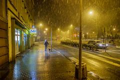 Będzin (nightmareck) Tags: będzin zagłębiedąbrowskie polska poland europa europe rain deszcz fotografianocna bezstatywu night handheld fujifilm fuji xe1 apsc xtrans xmount mirrorless bezlusterkowiec xf18mm xf18mmf20r fujinon pancakelens