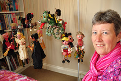 100 2017 my Pelham Puppet collection... so far (Margaret Stranks) Tags: 100365 365days 2017 pelhampuppets fairy blackpoodle hansel pirate bengotheboxerdog horse foal motherdragon mickeymouse oldwoman tyroleangirl witch pinocchio cat