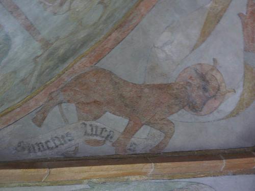 taureau symbolisant Saint-Luc