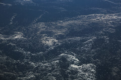 2017_04_10_lhr-ewr_023 (dsearls) Tags: 20170410 aerial windowseat windowshot united unitedairlines ual ua17 lhrewr ocean blue white ice icebergs patterns aviation flying longhaul flight north newfoundland grandbanks