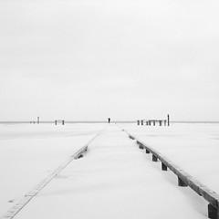 Follow Me (coastwalker) Tags: amrum eden fluchtpunkt horizont landschaft sand schwarzweiss strand coastwalker