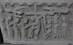 Pieve di Bardone - Deposizione (Alberto Cameroni) Tags: deposizione bassorilievo pievedibardone romanico sabatosanto artecristiana fotografarelarte leicaxtyp113