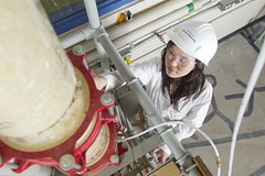 usask_engineering (University of Saskatchewan) Tags: aboriginal chemicalengineeringlab collegeofengineering engineeringbuilding erinwoods inside saskatoon sk canada can