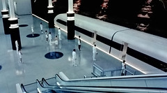 The Railway Station at Westworld. (ManOfYorkshire) Tags: westworld scifi sciencefiction fiction science remake film mini series tv sky atlantic future vacation resort hub greet hosts androids manufactured