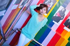 Yibi0021 (Mike (JPG直出~ 這就是我的忍道XD)) Tags: yibi 西門町 d300 model beauty 外拍 portrait 2013 fifi