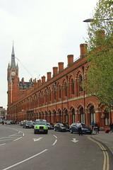 St Pancras railway station (yann.train) Tags: railway rail londres london train chemindefer gare station st pancras