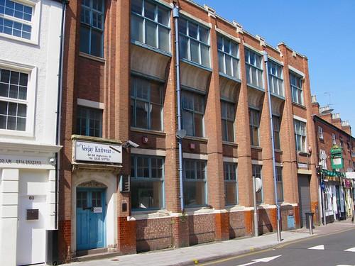 Garment factory, Highcross Street, Leicester, August 2009