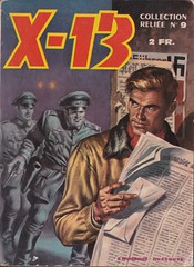 X-13 - Collection Reliee no. 9 (ortokur01) Tags: spy 1963 french british comic x13 bd francais cover art