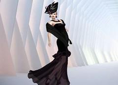 Mila Blauvelt (Mila Blauvelt) Tags: milablauvelt gown dreamer woman girl secondlife sl shopping bodymesh dress fashion fashioninpixel femalevear femaleclothing glamour glamouroso mesh maitreya meshhead hat avatar