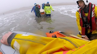Rescue of a horse faller at Kenfig Sands (Sker Beach)