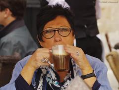 Portrait (Natali Antonovich) Tags: portrait sweetbrussels belgium belgie belgique brussels stare reverie character terras cafe tradition glasses lifestyle relaxation grandplace