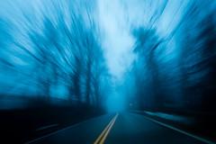 20170328 (Homemade) Tags: fog road driving winter lewisboro vista southsalem newyork ny westchestercounty trees travel movement sonydscrx100