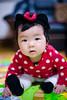 QUEENIE BABY (Terence Wu) Tags: 喜攝 小吳 台灣 taiwan terence 坤霓 nikon nikkor50mmf14d 寶寶照 csir 兒童寫真 米妮裝 六個月 queenie