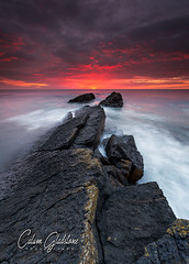 The Rising (Calum Gladstone) Tags: northumberland howick scar sunrise seascape rocks water movement sky manfrotto longexposure leefilters canon6d