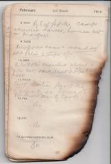 6-14 Feb 1915 (wheresshelly) Tags: ww1 wwi world war 1 australia gallipoli egypt military australian 4th field ambulance anzac morton wilfred