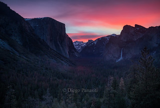 Tunnel View Yosemite National Park, March2017