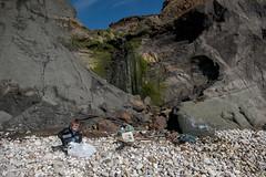 Isle of Wight Beach Clean at Compton Bay - DSCF2208 (s0ulsurfing) Tags: s0ulsurfing 2017 march isle wight beachclean pollution coast compton beach rubbish