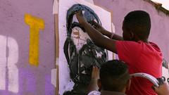 Oficina prática de stencil 2017 (Espaço 'Das Artes') Tags: oficinadestencil vivianmaier vivian maier oficina de stencil espaço das artes arteurbana artederua fotografia estencil graffiti santaritadosapucai suldeminas