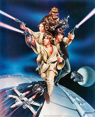 1978 Proctor and Gamble Star Wars poster by Ken Goldhammer (Tom Simpson) Tags: starwars vintage 1978 1970s film movie poster posterart movieposter lukeskywalker princessleia chewbacca hansolo