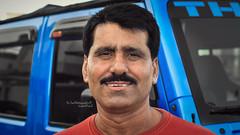 Smile :) (dr.7sn Photography) Tags: smile portrait face hair thehydra hydro hydroblue hydra saudi saudiarabia jeddah jeep jeepwrangler wrangler bluewrangler sultan pakistan
