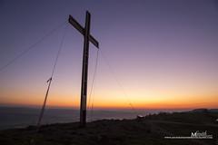Otley Chevin Easter Cross (MichikoSmith) Tags: otley chevin leeds wharfedale yorkshire west morning canon england uk 6d easter cross sunrise dawn dusk daybreak purple spring