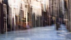 Rue Damiette à Rouen... A street in Rouen... (montier_isabelle) Tags: icm ville france rouen sigma105 flou blur town street