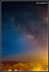 Milky way - Take 2 (hammadjaved) Tags: milky way pakistan quetta balochistan maddy hammadjaved travel astrology astro photography canon1100d canon
