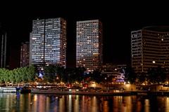 Paris Quais de Seine (hervekaracha) Tags: france paris nuit night seine