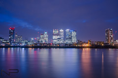 Canary Wharf (aquanandy) Tags: london londonist canarywharf visitlondon visitlondonofficial timeoutlondon timeout colours colourful towers thames riverthames lights lightstreaks reflection nikond7000 nikon nikonflickraward nikonuk nikonuser nikonindia follow followifyoulike followers followme explore urban raw ishootraw