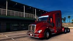Kenworth T680 (maxim_ovsienko) Tags: kenworth t680 red truck california hotel