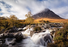 Over Spill (David Ball Landscape Photography) Tags: scotland glencoe buachailleetivemòr visitscotland water wideangle waterfall sky canon clouds nature autumn beautiful longexposure landscape landscapes photography outdoors uk travel adventure davidballlandscapephotography wwwdavidballphotographycouk