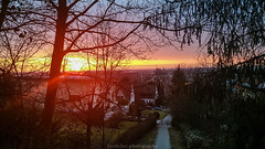 Heidelberg February Sunset  - 2017 VI (boettcher.photography) Tags: sunset sonnenuntergang sonne sun abend evening sky himmel februar february 2017 heidelberg badenwürttemberg deutschland germany sashahasha boettcherphotography