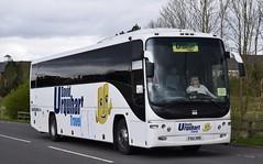 FSU395  Moffat & Williamson, Newport on Tay (highlandreiver) Tags: gretna fsu395 fsu 395 moffat williamson coaches newport tay fife plaxton bus coach scotland scottish
