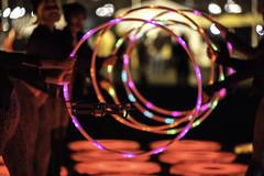 IMG_1927 (Skier1437) Tags: light led lightcity baltimore 2017 festival lightfestival celebration colors 5d mark ii canon maryland hoops drone fly align