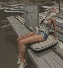 (Sittin' on) The Dock of The Bay (ღ Dru ღ for Style Freaks Anonymous) Tags: kustom9 kitjaxparker lamb catwa maitreya bueno