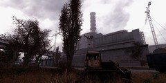 Chernobyl Nuclear Power Plant / S.T.A.L.K.E.R. (Den7on) Tags: stalker good evening call misery gsc chernobyl pripyat sky nuclear power plant lost alpha