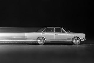 Opel runs fast at night