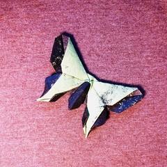 Butterfly - The Nolan (Michael G. LaFosse) (bensaderholm) Tags: origami butterfly lokta