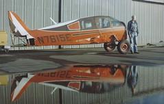 Bellanca 14-19-13 N7615E c/n 4117 at the old Rio Vista Airport in California. 1980's (planepics43) Tags: n7615e 4117 riovistaairport airport california cessna pilot piper claytoneddy 17crossfeed bellanca