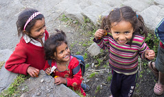 Kids on Annapurna Base Camp trek, Nepal (Matt-Zimmerman) Tags: nepal camp kids trek children base annapurna 2012 ghandruk westernregion