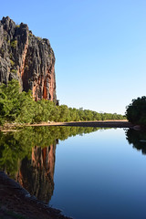 Windjana Gorge - Western Australia (Marian Pollock) Tags: water reflections wonderful still australia redcliffs cliffs gorge westernaustralia windjanagorge kimberleys topshots