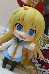 Nendoroid Chitoge Kirisaki (fuhrerver) Tags: anime cute japan toy japanese miniature mini japanesetoy nendo nendoroid kirisaki chitoge nisekoi chitogekirisaki