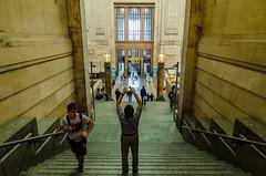 Return to Milano Centrale (Nodding Pig) Tags: italy milan station architecture italia milano central railway centrale 2014 ulissestacchini 201408139080101